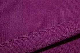 Ribcord en velvet - NB 9471-217 Ribcord pruim