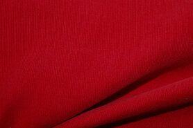 Ribcord en velvet - NB 9471-015 Ribcord rood
