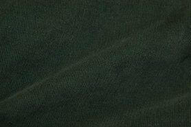 Ribcord en velvet - NB 9471-028 Ribcord donkergroen