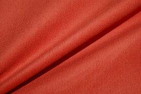 Oranje stoffen - NB 9471-036 Ribcord oranje