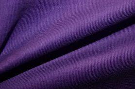 Ribcord en velvet - NB 9471-043 Ribcord paars