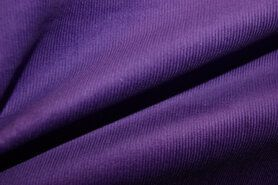 Ribcord und Velvet - NB 9471-043 Rippe violett