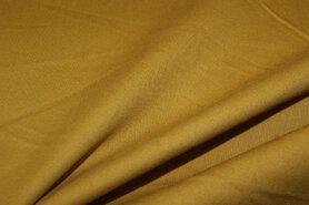 Stretch - NB 2887-034 Stretch katoen mosterd