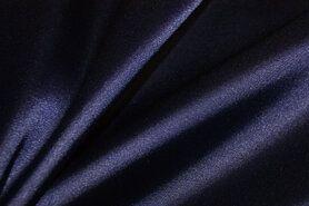 Satijn - NB 4241-047 Satijn stretch donkerpaars/blauw