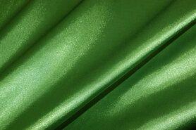 Stretch - NB 4241-025 Satijn stretch groen