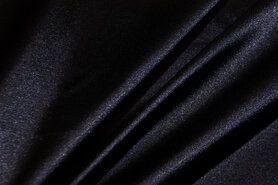 Stretch - NB 4241-008 Satijn stretch heel donkerblauw