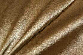 Satijn - NB 4241-053 Satijn stretch licht goud