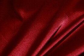 Stretch - NB 4241-016 Satijn stretch rood