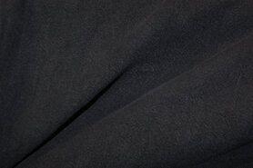 Linnen stof - NB 2155-008 Gewassen Ramie donkerblauw