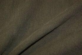 absorberende werking - NB 2155-027 Gewassen Ramie donker legergroen