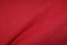 Linnen stof - NB 2155-115 Gewassen Ramie rood