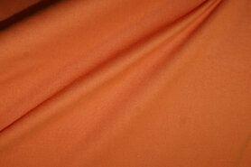 Oranje stoffen - NB 1805-036 Katoen (zacht) donker oranje