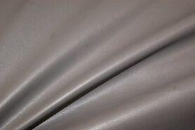 Kunstleer en suedine - NB 3629-254 Kunstleer stretch grijs