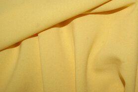 Sjaal - NB 3956-035 Crêpe Georgette geel