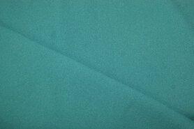 Blauwe vitrages - NB 3956-104 Crêpe Georgette donker aqua