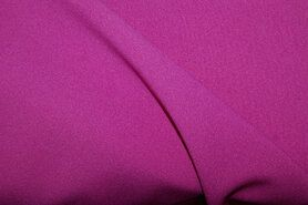 Roze vitrages - NB 3956-117 Crêpe Georgette cerise