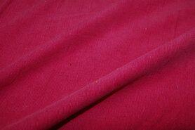 Ribcord en velvet - NB 9471-017 Ribcord fuchsia