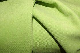 Ribcord en velvet - NB 1576-024 Ribcord lichte stretch lime