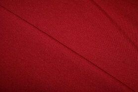 Donkerrood - NB 9601-016 Tricot Milano warm rood