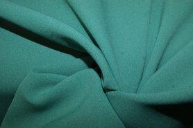 Voile - NB 3956-025 Crepe georgette aqua groen