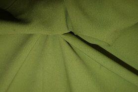 Voile gordijnen - NB 3956-026 Crepe Georgette appelgroen