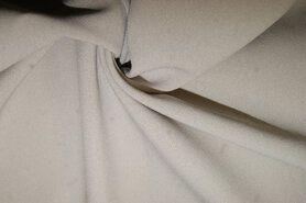 Voile gordijnen - NB 3956-152 Crepe georgette beige/grijs