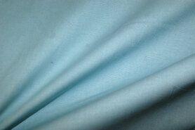Mondkapjes paneel - NB 1805-003 katoen (zacht) licht turquoise