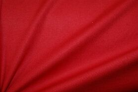 Sjaal - NB 1805-015 katoen (zacht) rood