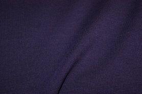 Elastische - NB 9601-43 Trikotstoff Milano violett