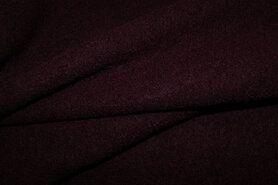 100% wol - NB 4578-019 Gekookte wol aubergine