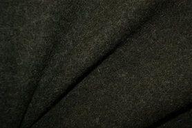 Woll - NB 4578-27 Gekookte wol donkergroen