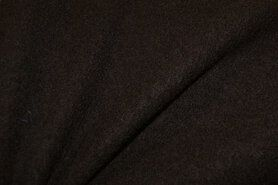 Woll - NB 4578-158 Gekochte Wolle dunkelbraun