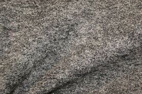 Woll - NB 4578-268 Gekochte Wolle rau meliert