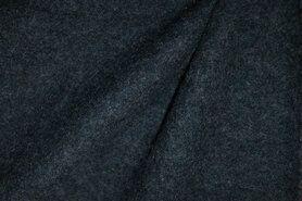 Deken - NB 4578-306 Gekookte wol donker oudblauw