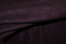 Fleece stoffen - NB 9111-019 Fleece aubergine