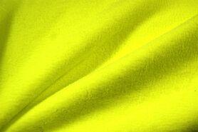 Fleece stoffen - NB 9113-035 Fleece neon geel