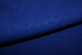 100% wol - NB 4578-005 Gekookte wol kobalt