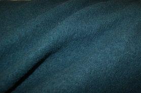 100% wol - NB 4578-124 Gekookte wol petrol