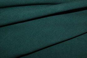 Ribcord en velvet - NB 9471-024 Ribcord donker petrol