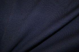 T-Shirt stoffen - NB 9601-147 Tricot Milano blauw-paars op=op