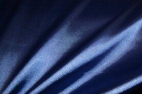 Satijn - NB 4241-005 Satijn stretch blauw