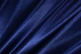 Futter - Stretch-Futter dunkel kobalt