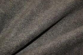 Fleece stoffen - NB 9112-063 Fleece grijs (gemeleerd)