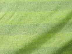 Strickstoffe - A812 Gestrickte Streifen Kalk Glitter