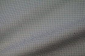 Mondkapjes paneel - NB 5581-022 Boerenbont mini ruitje mint 2mm