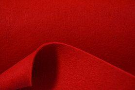 Vilt stof - Tassen vilt 7071-015 Rood 3mm