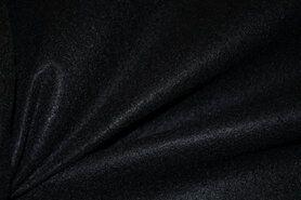 Zwart vilt - Hobby vilt 7070-069 Zwart 1.5mm dik