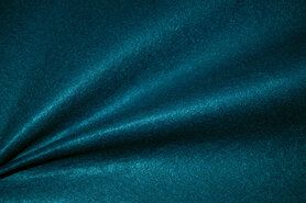 Vilt stof - Tassen vilt 7071-024 Petrol 3mm