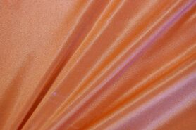 Voering - Rekbare voering licht oranje 7900-037