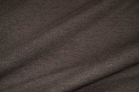 Stenzo stoffen - Stenzo 18600-333 Tricot bruin-taupe gemeleerd